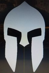 070c5. NEW!! Spartan Warrior Helmet - 3-1/2""