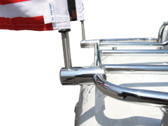 115b5. Stainless Steel Mount for Flag Pole