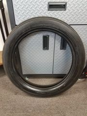 200a3. Avon Speedmaster Tire 3.50 S19 front tire - Practically new