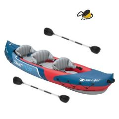 Sevylor Tahiti Kayak With 2 x Paddles & Pump