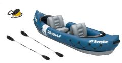Sevylor Riviera Kayak With 2 x Paddles & Pump