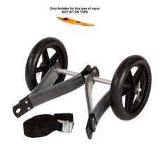 Ruk Small Nylon Trolley For Sea Kayaks