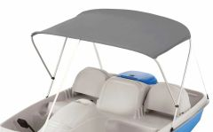 Sun Dolphin 5 Seat Pedal Boat Canopy