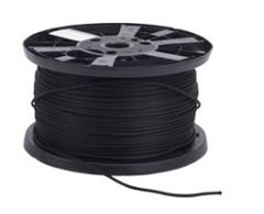 BLACK Monoflex ™ Shock Cord 6 mm 100 m Reel