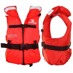 Typhoon 100N life jacket XL Chest Size 65cm - 77 Weight 30-40Kgs