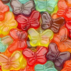Mini Gummy Butterflies