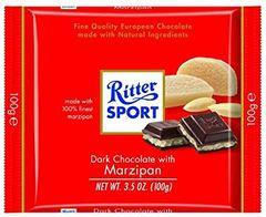 Ritter Sport Dark With Marzipan