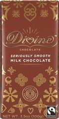 divine seriously smooth milk chocolate