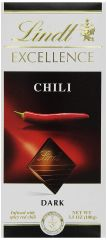 Lindt Excellence Dark Chocolate Chili
