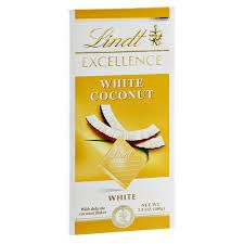 Lindt Excellence White Chocolate Coconut