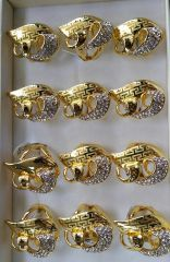 GOLD PLATED RING-08