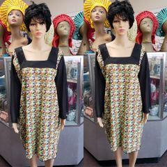 SHORT ANKARA DRESS-CLR 7