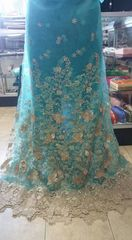 TULLE WITH STONES-153