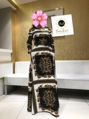 BRAND DRESS WITH BELT-01