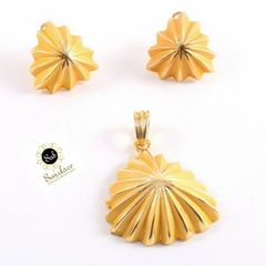 EARING AND PENDANT SET-95