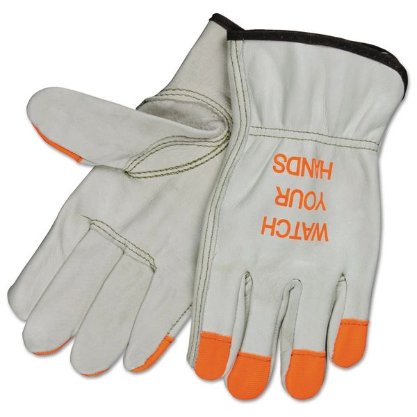 Gold road hustler leather work gloves mature thumbs free