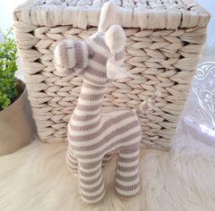 Grey Stripe Giraffe