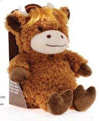 Aroma Home Cosy Hottie - Highland Cow