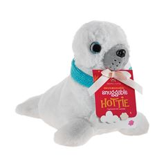 Aroma Home Snuggable Hottie - Seal with Scarf