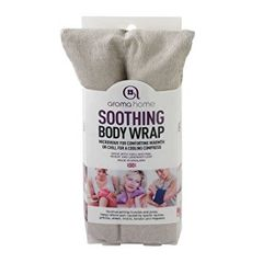 Aroma Home Grey Body Wrap in Sleeve
