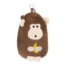Beatrix New York Micro Cuddly Bag Clip ~ Dieter Monkey