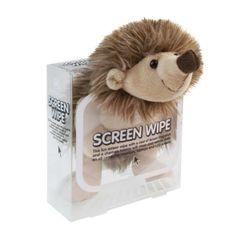 Aroma Home Screen Wipe ~ Hedgehog