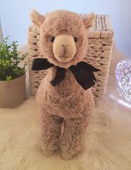 Beige Llama Soft Toy