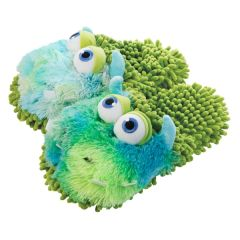 Aroma Home Fuzzy Friends Slippers ~ Monster
