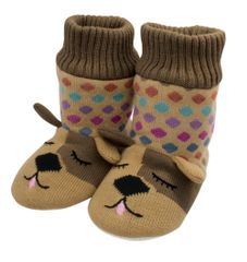 Aroma Home Knitted Animal Booties ~ Dog