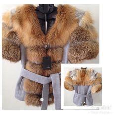 Fox Fur & Cashmere Jacket