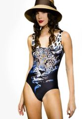 G2044 - One Piece- Jungle Tiger and Panther Black