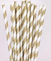 Gold Paper Straws