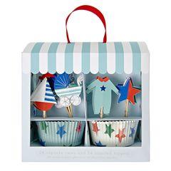 Baby Blue Cupcake Kit