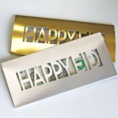 Metallic Eid Money Envelopes