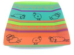 Hajj Sheep Design Plates