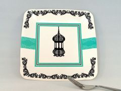 Lantern Ramadan Dessert Plates