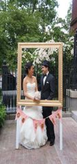 """Frames for fun pictures at wedding and parties-Wood painted, 36"""" x 36"""", several colors to choose from"""