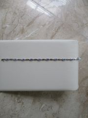 Diamond/Tanzanite Bracelet
