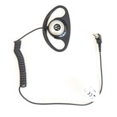 PMLN4620 Receive Only D- Shell Earpiece for Remote Speaker Microphone Only 3.5mm Adaptor