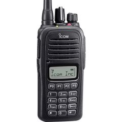 F1000T 09 136-174MHz VHF, 128CH, LCD, Full DTMF Keypad, Waterproof. Includes BC213 Rapid Charger