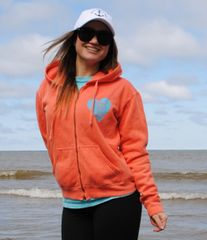 Loving Life on the Water Zip Up Hoodie