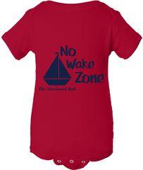 No Wake Zone Onesie
