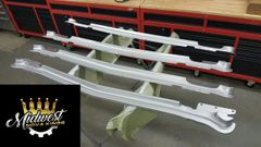 1968 - 72 Nova Bumper Filler, Front Plasic Painted Cortez Silver (Ready For Install)