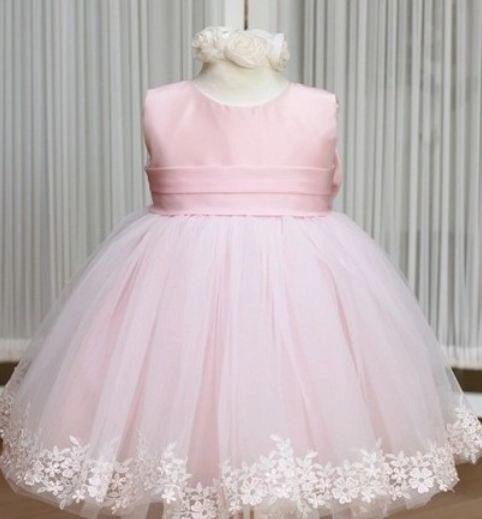 Girls Pink Dress for 3T,4T,5T,6T,7T Toddler Girls Wedding Ball ...