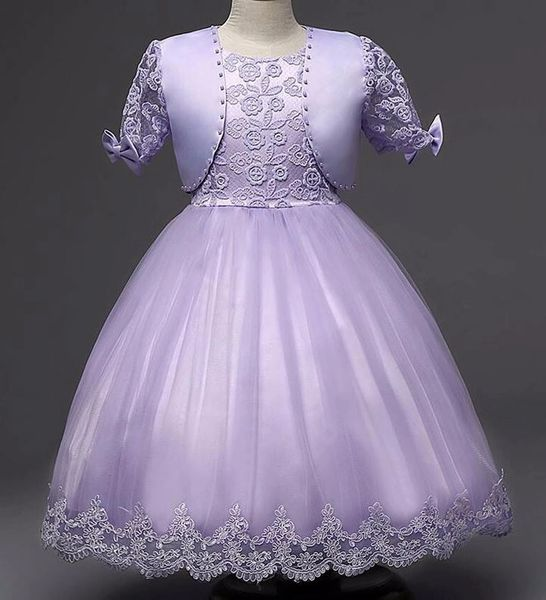 Lavander Dress Formal Outfit for Flower Girls Ages 3-4 Years Old ...