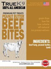 Peanut Butter Beef Bites 42oz