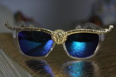 1130 Designer Inspired Lion Sunglasses