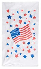 12 Woven Polyplastic Patriotic Potato Sacks