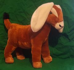 Stuffed Toy Nubian Goat