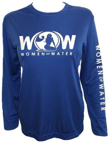 ON SALE! Keep it Classic 'WOW' Long Sleeve Microfiber Performance Shirt